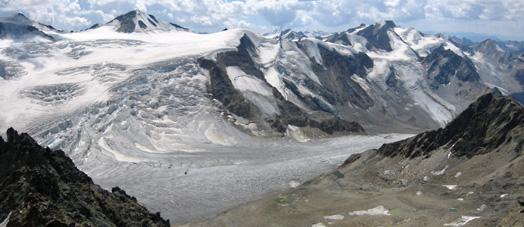 hoogste gletsjer oostenrijk